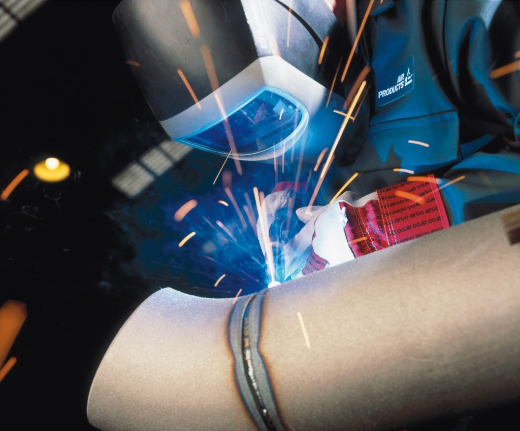Welding at Air Products